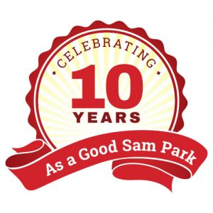 Celebrating 10 Years as a Good Sam Park